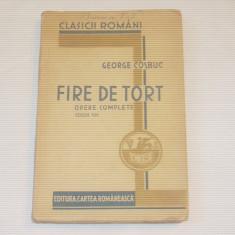 GEORGE COSBUC - FIRE DE TORT ~ Ed. 1934 - Carte veche
