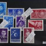 M527-Primul om in cosmos+Al doilea om in cosmos-1961+primul zbor in grup 1962 - Timbre Romania, Nestampilat