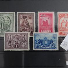 10 ani de la unirea Transilvaniei 1929 - cod M154- timbre nestampilate - Timbre Romania