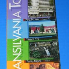 PLIANT turistic TRANSILVANIA TOUR - HOTEL CRISANA BAILE FELIX - Reclama Tiparita