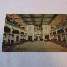 Cp.311-VEDERE DIN BAILE HERCULANE_CASINO-SALON - Carti Postale Romania dupa 1918, Necirculata, Fotografie