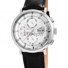 Ceas de lux Engelhardt Edgar Steel Silver, original, nou, cu factura si garantie! - Ceas barbatesc Engelhardt, Lux - elegant, Mecanic-Automatic, Otel