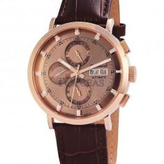 Ceas de lux Engelhardt Edgar Rose Gold, original, nou, cu factura si garantie! - Ceas barbatesc Engelhardt, Lux - elegant, Mecanic-Automatic
