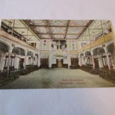 Cp.309-VEDERE DIN BAILE HERCULANE_CASINO-SALON - Carti Postale Romania dupa 1918, Circulata