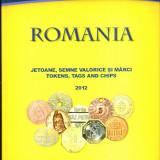 CATALOG JETOANE, SEMNE VALORICE SI MARCI ERWIN SCHAFFER EDITIA 2012 (ULTIMA) - Carte de lux