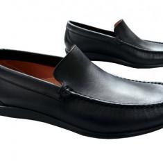Pantofi barbati piele naturala Denis-1040-n - Pantof barbat, Marime: 42, Culoare: Nero