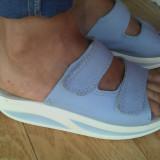 Sandale din piele marimea 39,purtate o singura data!