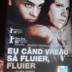 EU CAND VREAU SA FLUIER, FLUIER, un film de Florin Serban - Film drama productii romanesti, DVD, Romana