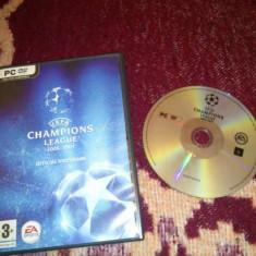Uefa Champiosn league 06-07 - Jocuri PC Ea Games, Sporturi, Toate varstele
