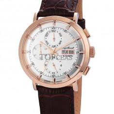 Ceas de lux Engelhardt Edgar Rose Gold Silver, original, nou, cu factura si garantie! - Ceas barbatesc Engelhardt, Lux - elegant, Mecanic-Automatic