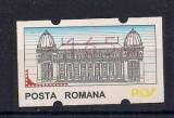 Timbru automat nominal 1650 lei