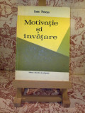Ioan Neacsu - Motivatie si invatare, Alta editura