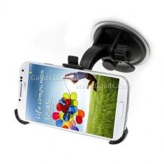 Suport auto parbriz Samsung Galaxy S4 i9500 i9505 + incarcator auto + folie