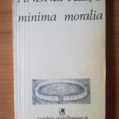 Z7.Minima Moralia - Andrei Plesu - Filosofie