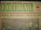 FOTBAL - (12 aprilie 1972) numai pagina 1 - interviu cu Ion Oblemenco realizat de Ioan Chirila