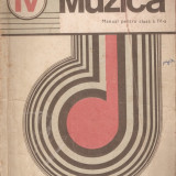 ANA MOTORA IONESCU - MUZICA, MANUAL PENTRU CLASA A IV-A { 1977, 160 p.}, Alta editura