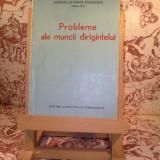 Probleme ale muncii dirigintelui - Roman