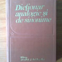N5 Dictionar analogic si de sinonime - M. Buca, I. Evseev, Fr. Kiraly, - Dictionar sinonime
