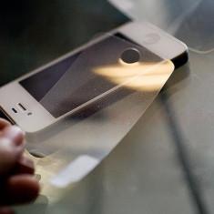 Folie iPhone 5 5S Transparenta DIAMOND fata spate - Folie de protectie Apple