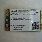 Placa de retea wireless laptop Intel N Wireless WiFi Model 4965AGN MM2  3 antene