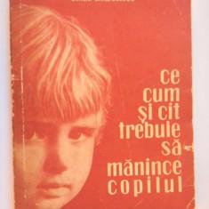 CE CUM SI CAT TREBUIE SA MANANCE COPILUL Emilia Andreescu - Carte Retete pentru bebelusi