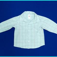 Camasa cu maneca lunga, bumbac, C&A Baby Club _ baieti | 12 - 18 luni | 86 cm, Marime: Alta, Culoare: Bleu