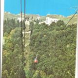 CPI (B4388) SINAIA. VEDERE SPRE COTA 1400, EDITURA MERIDIANE, CIRCULATA, 23.02.1979, STAMPILE, TIMBRU - Carte Postala Muntenia dupa 1918, Fotografie