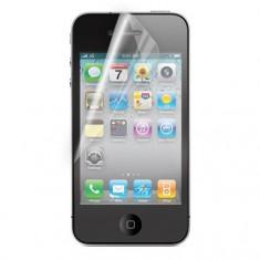 Folie iPhone 4 4S Transparenta - Folie de protectie Apple, Lucioasa