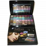 Trusă farduri sidef pentru pleoape Saffron London 48 Colors Cream Eyeshadow