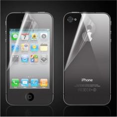 Folie iPhone 4 4S Fata Spate Mata - Folie de protectie Apple