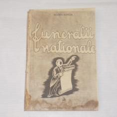 MARIN IORDA - FUNERALII NATIONALE                     Ed.veche, Alta editura