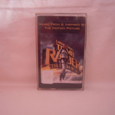 Vand caseta audio Lara Croft Tomb Raider-Original Soundtrack, originala, raritate! - Muzica soundtrack Altele, Casete audio