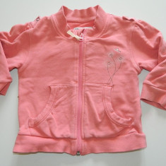 Bluza de exterior pentru fetite, marca Decathlon, marimea 2 ani, cu fermoar, Culoare: Rose, Rose