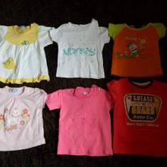 Set 6 tricouri fetite, diverse marimi, de joaca, la lot! COMANDA MINIMA 30 lei!, Culoare: Multicolor, Fete