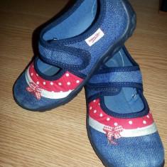 Pantofiori superbi SuperFit aproape noi! - Pantofi copii Superfeet, Culoare: Albastru, Marime: 25, Fete, Albastru