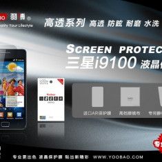 Folie Samsung Galaxy S2 I9100 Mata by Yoobao Originala