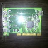 Adaptor PCI la USB cu 5 porturi