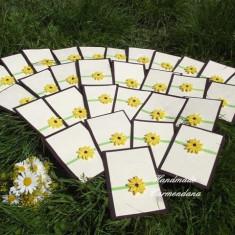Invitatii Handmade (Lucrate manual) - Invitatii nunta