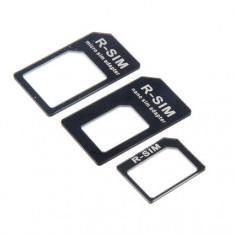 Adaptor micro nano sim iPhone 4 4S 5 5C 5S iPad - Adaptor microsim