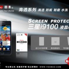 Folie Samsung Galaxy S2 I9100 Transparenta by Yoobao Originala - Folie de protectie Yoobao, Lucioasa
