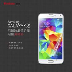 Folie Samsung Galaxy S5 Transparenta by Yoobao Made in Japan Originala - Folie de protectie Yoobao, Lucioasa