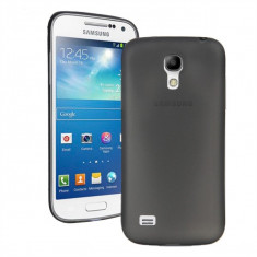 Husa Samsung Galaxy S4 Mini i9190 Ultra Slim Mata Black - Husa Telefon Samsung, Negru, Plastic, Fara snur, Carcasa