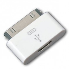 Adaptor Micro USB la 30 pin Apple iPhone iPad iPod