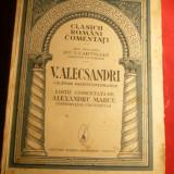 V. ALECSANDRI -- Calatorii misiuni diplomatice, Ed1931, comentariu Al.Marcu - Carte de calatorie