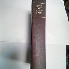 ION HELIADE RADULESCU - SCRISORI SI ACTE - (cu dedicatie de la George Potra)