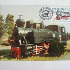 MX - LOCOMOTIVA CU ABUR - PRIMA ZI A EMISIUNII - RESITA 2002, Romania de la 1950, Transporturi