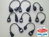 Kit set complet 8 cabluri adaptoare OBD2 Autocom / Delphi  pentru camioane