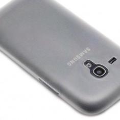 Husa Samsung Galaxy S3 Mini i8190 Ultra Slim Mata White - Husa Telefon Samsung, Alb, Plastic, Fara snur, Carcasa