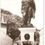 AMP326 Baile Herculane, statuie, Hercules, RPR