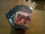 MEDITERANA SI LUMEA MEDITERANA IN EPOCA LUI FILIP AL II -LEA  -- Fernand Braudel   --  6 volume  , 1985, Alta editura